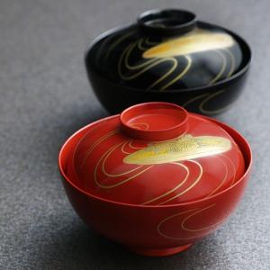 睦椀 花舟(輪島塗) 吸物椀/蓋付き/漆塗り|heiando