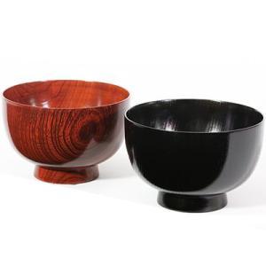 中椀 欅(ペア) お椀/漆塗り/木製 heiando