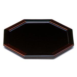 八角銘々皿 白檀(単品) 菓子皿/漆塗り/漆器|heiando