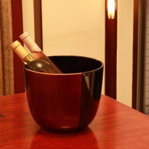 シャンパンクーラー 白檀 ワインクーラー/高級/漆塗り|heiando