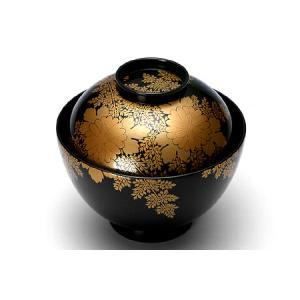 吸物椀 菊に忍 ( 輪島塗:5客組 )|heiando