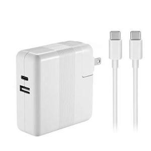 61W USB Type-C充電器は新型Macbook Pro 13インチノートパソコン対応(3点以上お得) heiman