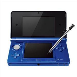 3DS 本体 ニンテンドー3DS コバルトブルー 本体のみ 任天堂 中古 の商品画像|ナビ