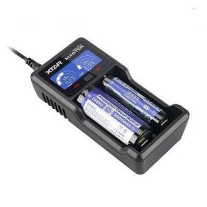 XTAR(エクスター) VC2 Plus MASTER USB 充電器 【カウントダウンタイマー機能付 LCD ディスプレイ】 VC2Plus|heiman