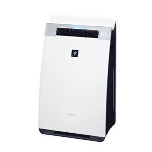 シャープ 加湿空気清浄機 プレミアムモデル プラズマクラスター25000 21畳/空気清浄 34畳 ホワイト KI-GX75-W heiman