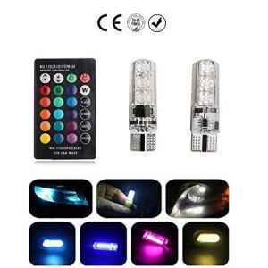 HooMoo T10 LEDバルブ ウェッジ球 ポジションランプ ナンバー灯 ルームランプ ウインカー 汎用 爆光 高品質 高輝度 6SMD 505 heiman