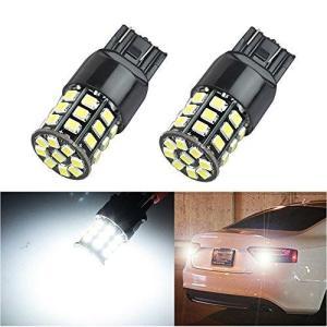 HooMoo T20 LED ダブル (W21W T20 7443 )ホワイト LEDバルブ LEDライト 車用 LEDランプ 33連 2835 S heiman