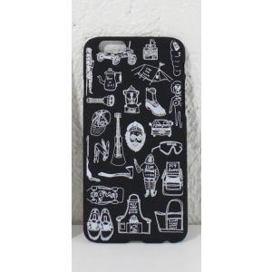 chi-bee/チービー iPhone7 ハードケース Nelson OUTDOOR STYLE ブラック heimat-berg