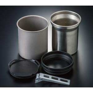 SOTO/ソト サーモスタック SOD-520   2つのマグカップ(350m?、400m?)、ジョ...