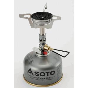 SOTO/ソト マイクロレギュレーターストーブ ウインドマスター  独自のバーナーヘッド構造とマイク...