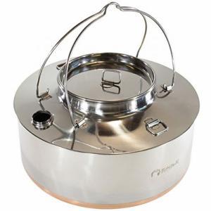 イーグルプロダクツ EAGLE Products campfire kettle 4.0L キャンプファイアー ケトル やかん ウォーターケトル 焚火の商品画像|ナビ