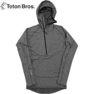 ティートンブロス Teton Bros. POWER WOOL GRID HOODY MEN|heimat-berg