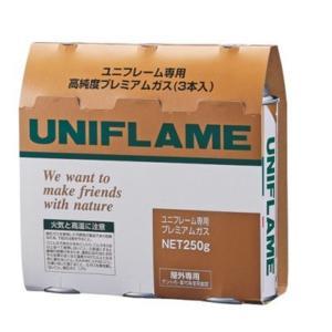 ユニフレーム UNIFLAME プレミアムガス 3本