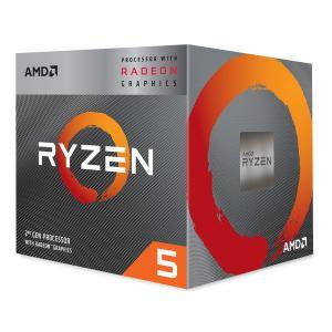 AMD CPU Ryzen 5 3400G BOX 第3世代 YD3400C5FHBOX 代引き対応