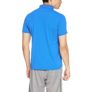 デサント タフポロライト ポロシャツ MOVESPORTS DMMLJA72 メンズ ブルー 日本 ...