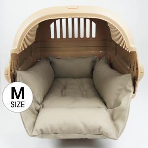 ホリホリ・カミカミ大好きちゃん用 8号帆布生地 キャリークッションベッド モカ色 Mサイズ|helens-petbed