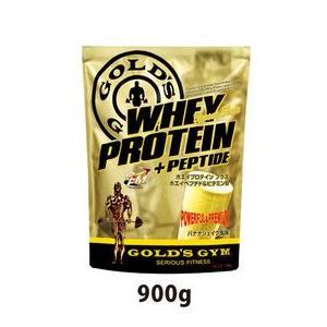 ゴールドジム ホエイプロテイン バナナシェイク風味 900g|heliosholding