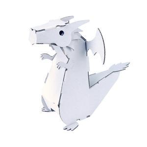 【3つ以上で送料無料】 ダンボール 工作 キット hacomo ハコモ ドラゴン|heliosholding