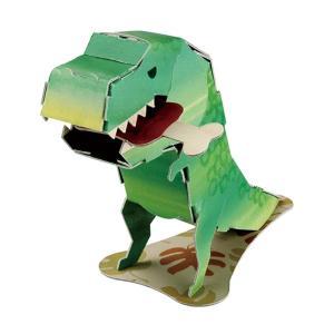 【3つ以上で送料無料】 ダンボール 工作 キット hacomo mini  ハコモ ミニ 恐竜|heliosholding