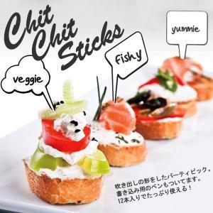 パーティー ピック チットチャットスティック Chit Chat Sticks|heliosholding