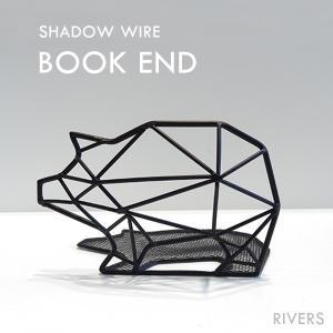 BOOKEND ブックエンド RIVERS リバーズ インテリア|heliosholding