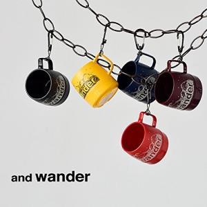 """(アンドワンダー) and wander カラビナ付断熱カップ""""and wander DINEX"""" ..."""