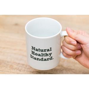 Natural Healthy Standard ロゴ入り マグカップ (グリーン)