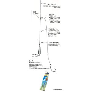 DECOY/デコイ 琵琶湖キャロワイヤー