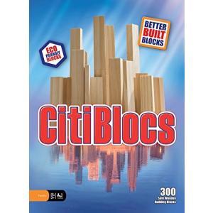 木製ブロック CitiBlocs シティブロックス ナチュラルカラーセット300ピース