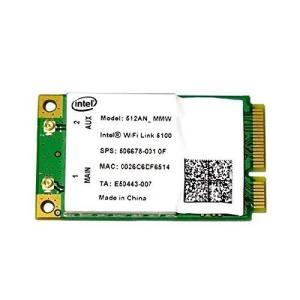 Intel Wireless WiFi Link 5100 802.11a/b/g/n Mini P...
