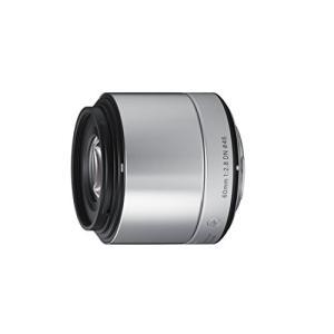 SIGMA 単焦点望遠レンズ Art 60mm F2.8 DN シルバー マイクロフォーサーズ用 9...