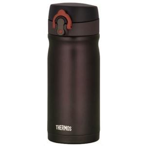 サーモス 水筒 真空断熱ケータイマグ ワンタッチオープンタイプ 0.35L ダークブラウン JMY-...