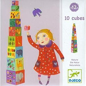 DJECO(ジェコ) 10ナチュレ&アニマルブロックス DJ08505