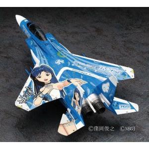 """1/72 アイドルマスターシリーズ F-15E ストライクイーグル """"アイドルマスター 如月千早"""" ..."""