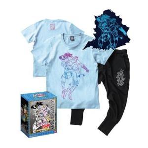 ジョジョの奇妙な冒険 Tシャツ&サルエルパンツ スタープラチナ Mサイズ