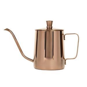 コーヒー ドリップポット ステンレス ドリップケトル ハンドドリップ コーヒーポット (350ml)...
