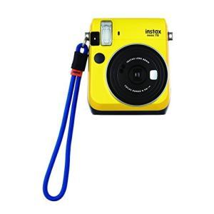 FUJIFILM インスタントカメラ チェキ instax mini70・90用ハンドストラップ ブ...