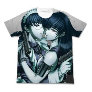 ブラックラグーン ロベルタ フルグラフィックTシャツ ホワイト サイズ:XL