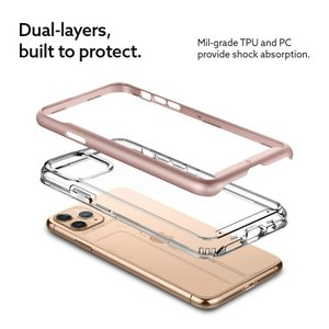 Caseology Skyfall, iPhone11 Pro Max ケース、クリアTPU+PC ...