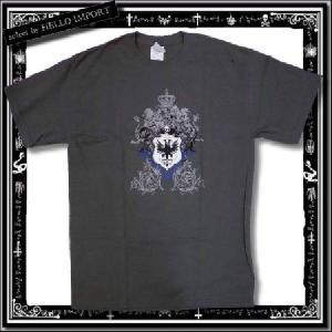 訳あり Tシャツ メンズ 半袖 アメカジ 王冠 獅子柄 まとめ割対象商品 /rfa085-m23|hello-import