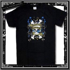 訳あり メンズ 半袖 Tシャツ アメカジ スカル ペイント柄 まとめ割対象商品 /rfa085-s10-2|hello-import