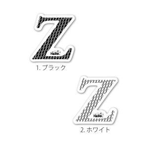 イニシャルステッカー 007|hello-omotesando