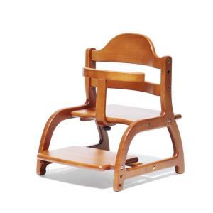 ベビーチェア yamatoya(大和屋) sukusuku low chair(すくすく ローチェア) ライトブラウン helloakachan-store