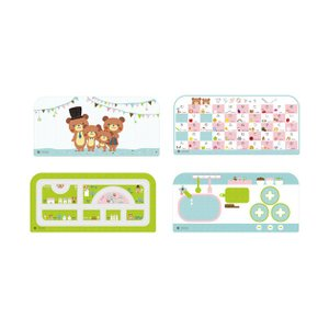 ベビー家具 HOPPL(ホップル) コロコロ デスク専用マット 2枚|helloakachan-store