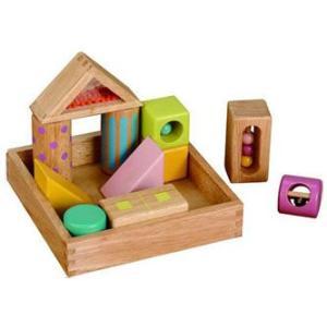 知育玩具 エドインター 森のあそび道具 音いっぱいつみき