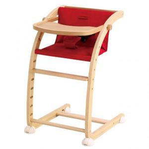 ベビーチェア farska Scroll Chair Plus(スクロールチェアプラス) レッド|helloakachan-store