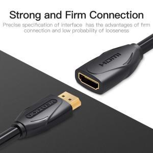 VENTION HDMI 延長ケーブル 4K 3D対応 タイプAメス-タイプAオス 金メッキコネクタ (0.5m)|hellodolly