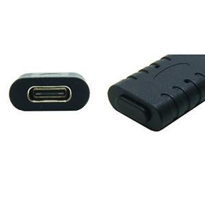 テクノベインズ USB3.1Type-C 機器側コネクタ用キャップ (黒) つまみなし 6個/パック...