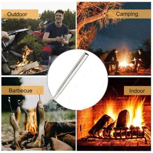 火吹き棒 送風機 バーベキュー必需品 アウトドア キャンプ用 火吹き ふいご 焚き火 軽量 炭などの|hellodolly