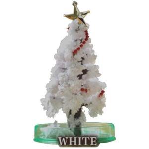 OTOGINO(オトギノ) マジッククリスマスツリー ホワイト 12時間で育つ不思議なツリー TR-...